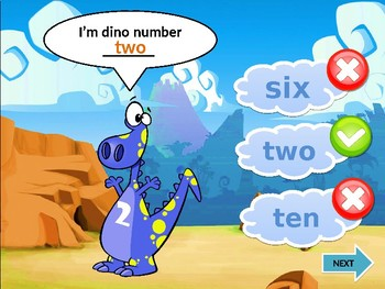 Counting Dino
