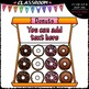 (0-12) Counting Donuts Clip Art - Sequence, Counting & Math Clip Art & B&W Set