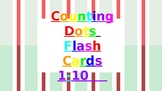 Counting Dots Flash Cards 1-10