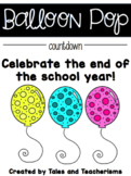 Counting Down to the End of Year with Balloon Pop Activities