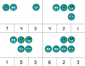 Counting Earth Emojis Clip It {A Beginning Work Task)