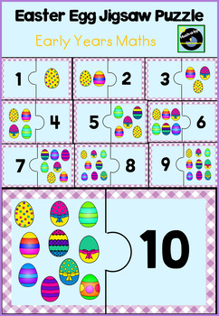 Counting Easter Eggs  Jigsaw Puzzle