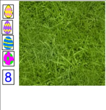 Interactive Counting Easter Eggs Smart Notebook