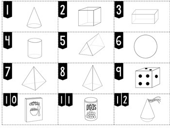 Counting Edges 3D Shapes