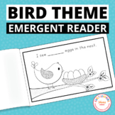Counting Eggs:  Free Spring Bird Emergent Reader