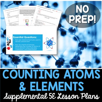 Counting Elements and Atoms - No Lab