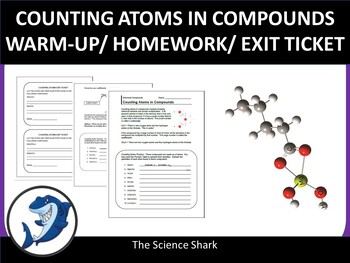 Counting Atoms in Compounds