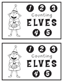 Counting Elves Emergent Reader Pre-k and K Christmas/Seasonal