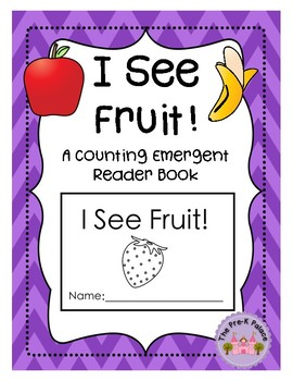 Counting Fruit: A Preschool Reader Book