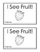 Counting Fruit: A Preschool Reader Book