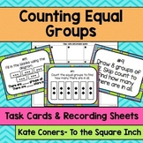 Counting Equal Groups Task Cards