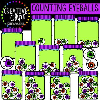 Counting Eyeballs: Halloween Clipart {Creative Clips Clipart}