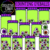 Counting Eyeballs: Halloween Clipart {Creative Clips Clipart}
