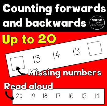 Counting FORWARDS and BACKWARDS to 20