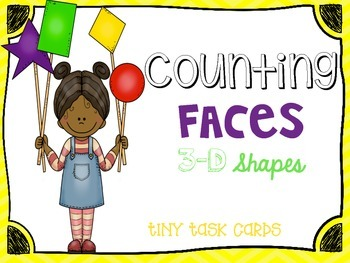 Counting Faces 3D Shapes