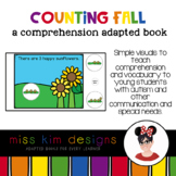 Counting Fall: A Comprehension Adapted Book