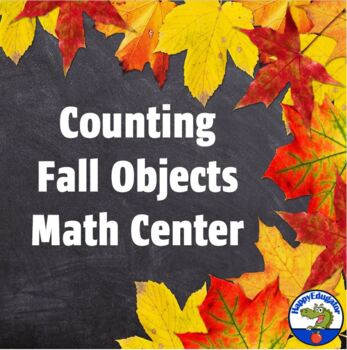 Counting and Matching Fall Leaves, Acorns, and Pumpkins