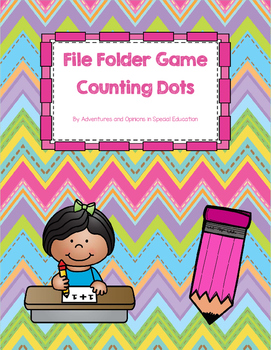 Counting File Folder Game