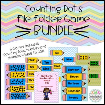 Counting File Folder Game Bundle