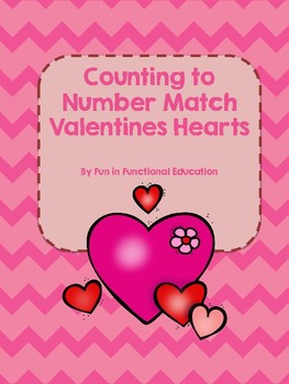 Counting File Folder Game- Valentine's Edition