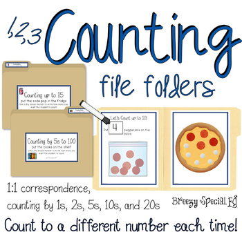 Counting File Folders for Special Education