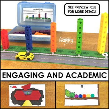 Counting Fine Motor Skills Task Boxes