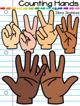 counting fingers clipart by ilbra shahbaz teachers pay teachers usd