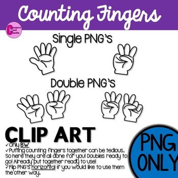 Counting Fingers Clip Art