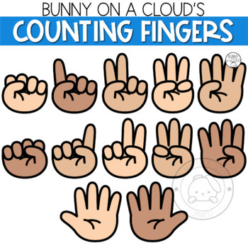 counting fingers clip art worksheets teachers pay teachers counting fingers clip art worksheets