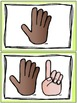 Counting Fingers Flashcards {A Freebie!!}