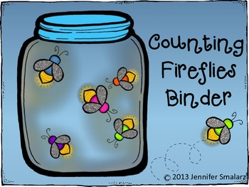 Interactive Counting Fireflies Counting Notebook