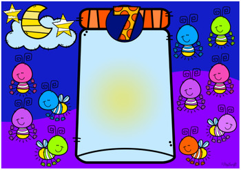 Counting Fireflies • Digital Task Cards