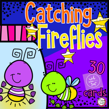 FRENCH BOOM CARDS • Counting Fireflies