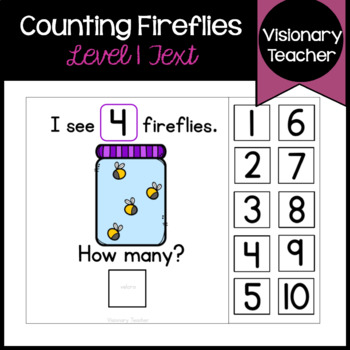Counting Fireflies - Interactive Book (SET OF 2)