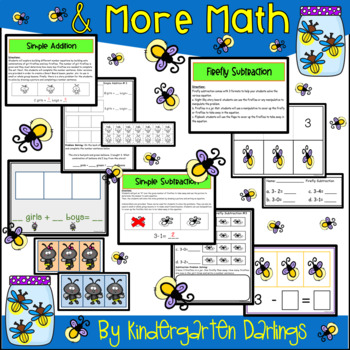 Counting Fireflies: Numbers 0-20, Addition, Subtraction and More