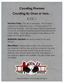 Counting Firemen Common Core Math Game