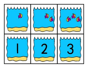 Counting Fish 1-20