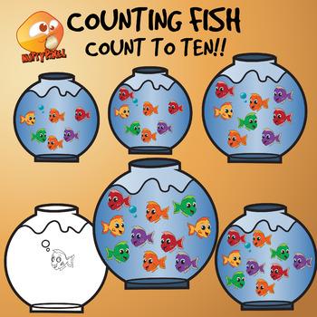 Counting Fish Clip Art Clip Art