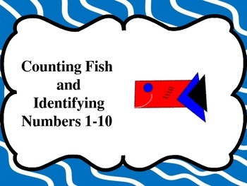 Counting Fish and Identifying Numbers 1-10 (Great for Auti