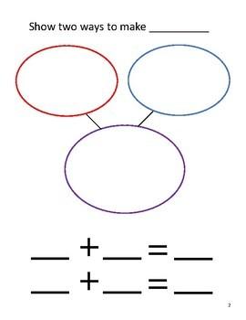 Counting Fish: Math Worksheets