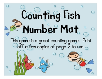 Counting Fish Number Mats