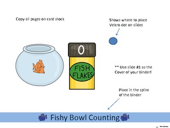 Interactive Counting Fishies Notebook