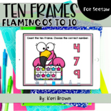 Counting Flamingo Ten Frames to 10   Seesaw Activity