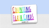 Counting Flash Cards 1-10