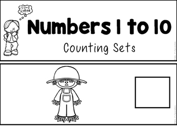 Counting Flip Books For Fall (Special Education Resource)