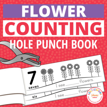 Flowers Interactive Hole Punch Counting Books