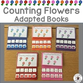 Counting Flowers Adapted Books in 5 Colors