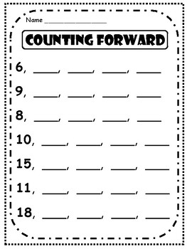 Counting Forward
