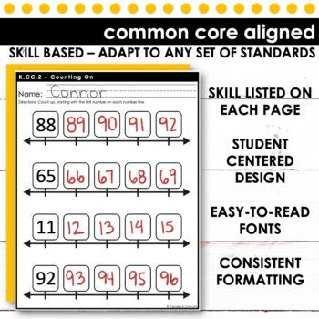 Counting Forward | Kindergarten Math