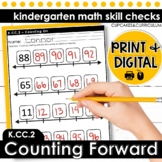 Counting Forward   Kindergarten Math K.CC.2